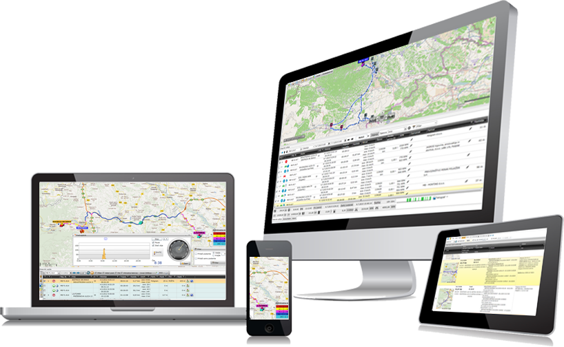 GPS vehicle tracking and carrying out fieldwork